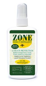 Picture of 101-04S Zone Insect Repellent Spray DEET FREE
